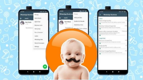 Latest Version Baby WhatsApp Apk Download for android and IOS