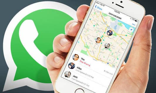 How to Share Live Location to Your Contacts On whatsapp
