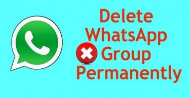 How to Delete WhatsApp Group on Android & iOS Device